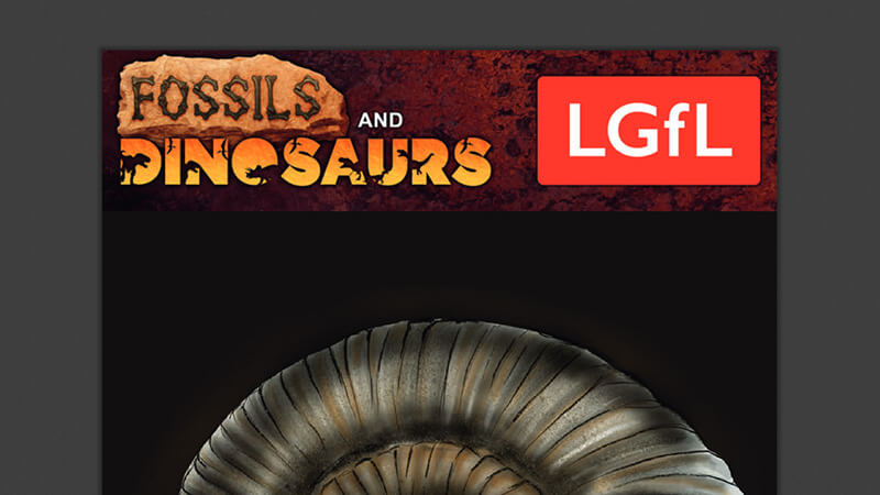 Digital version of the full Fossils and Dinosaurs ActiveLens resource