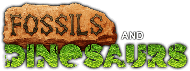 Fossils and Dinosaurs Logo